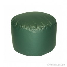 Lifestyle Bigfoot Footstool Mixed Bead Bean Bag - PVC Vinyl Spruce Green