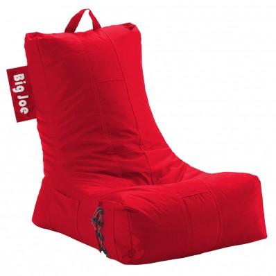 Big Joe Video Bean Bag Chair - Flaming Red Lounger