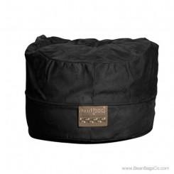 5- Foot Mod Pod Classic Bean Bag Chair - Soft Suede Black Lounger