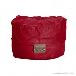 5- Foot Mod Pod Classic Bean Bag Chair - Soft Suede Lipstick Red Lounger