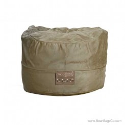 5- Foot Mod Pod Classic Bean Bag Chair - Soft Suede Olive Lounger