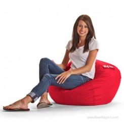 """Big Joe 98"""" Bean Bag Chair - SmartMax Flaming Red"""
