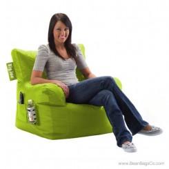 Big Joe Bean Bag Dorm Chair - Lime