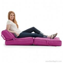 Big Joe Flip Bean Bag Chair - SmartMax Pink Passion Lounger