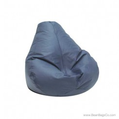 Lifestyle Extra Large Pure Bead Bean Bag Chair - Cobalt Blue