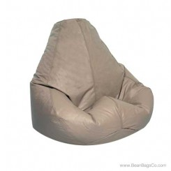 Lifestyle Extra Large Pure Bead Bean Bag Chair - Cobblestone