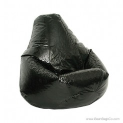 Wetlook Pure Bead Bean Bag Chair - Jet Black Extra Large Lounger