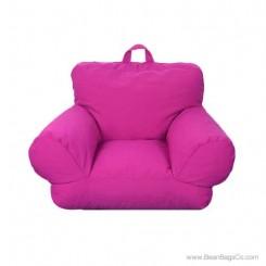 Junior FX Jr. Bean Bag Arm Chair - Hot Pink