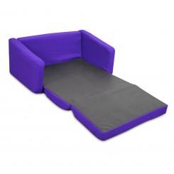 Junior FX Tot Bean Bag Sofa - Purple