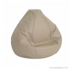 Lifestyle Pure Bead Large Bean Bag Chair- Cobblestone