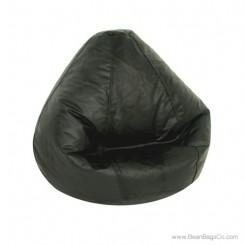 Lifestyle Pure Bead Large Bean Bag Chair - Black