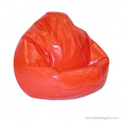 Lifestyle Pure Bead Large Bean Bag Chair- Lipstick Red