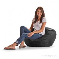"Big Joe 98"" Bean Bag Chair - SmartMax Stretch Limo Black"