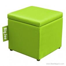 """Big Joe 15"""" Square Ottoman Bean Bag Chair - Spicy Lime"""