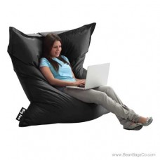 The Original Big Joe Bean Bag Chair - Stretch Limo Black